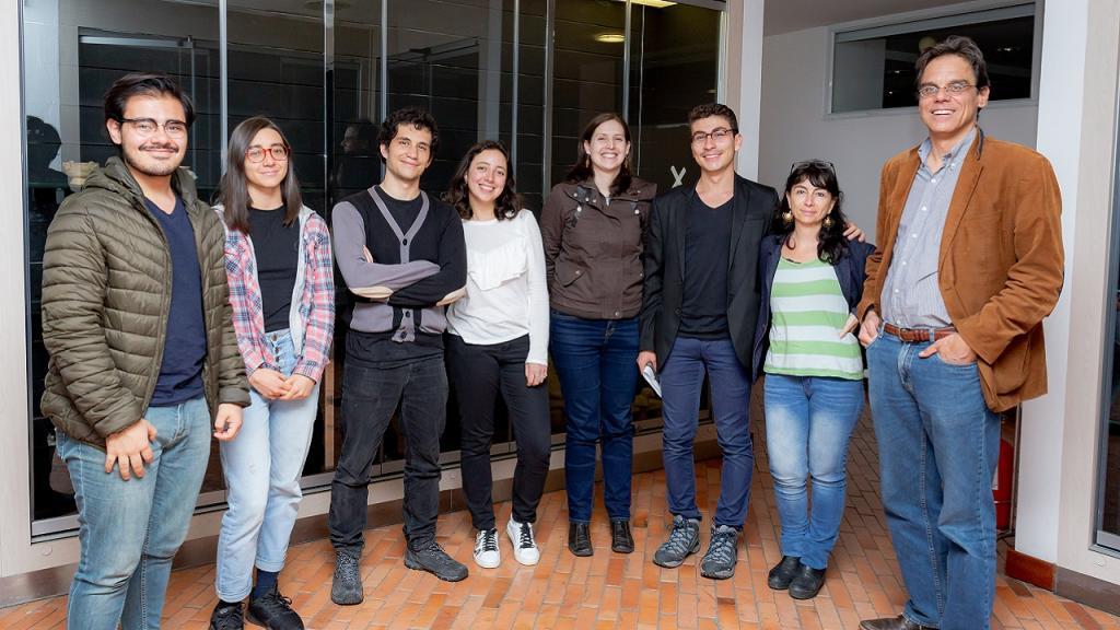 Imagen del equipo humano del Laboratorio