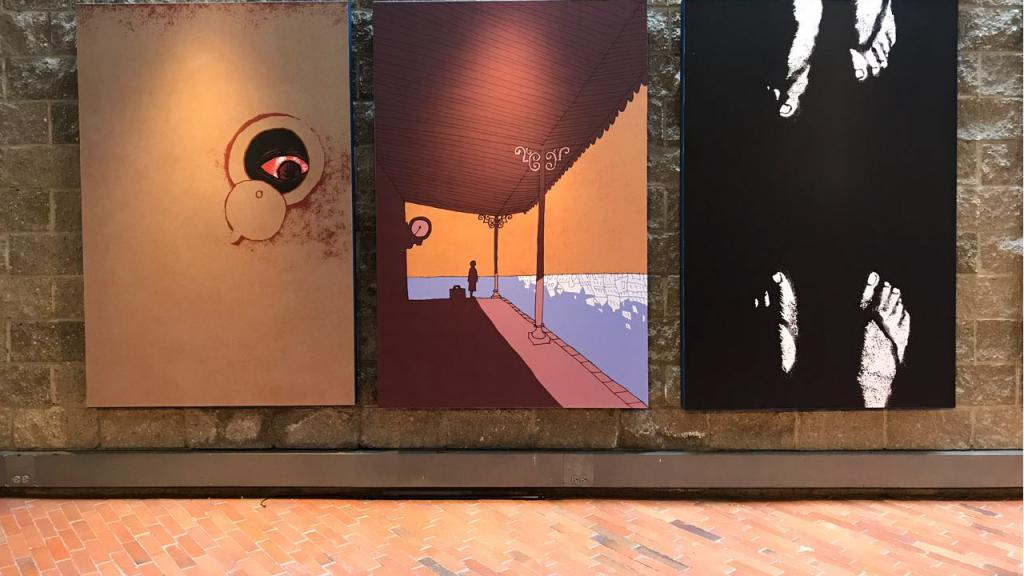 Exposición del artista portugués António Jorge Gonçalves en Uniandes