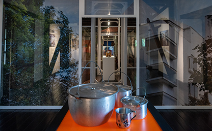 Olla dentro de la exposición, Adentro formas de vida en Bogotá