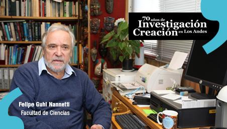 Felipe Guhl, profesor emérito de la Universidad de los Andes