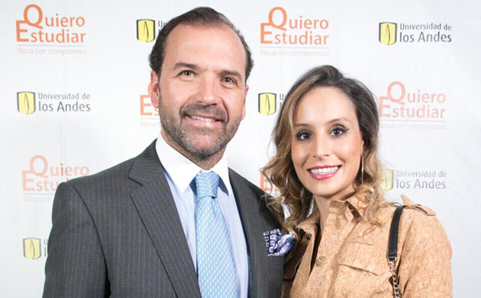 Felipe Saénz y Carolina Robayo
