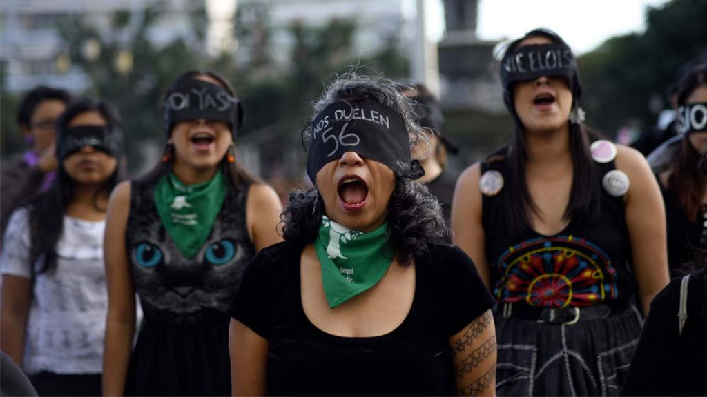 Foto de feministas