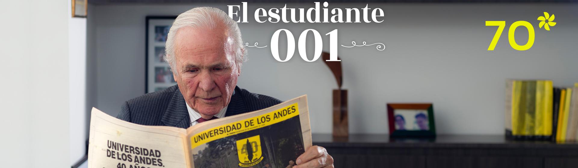 Fernando Restrepo, egresado de la primera promoción de la Universidad de los Andes.