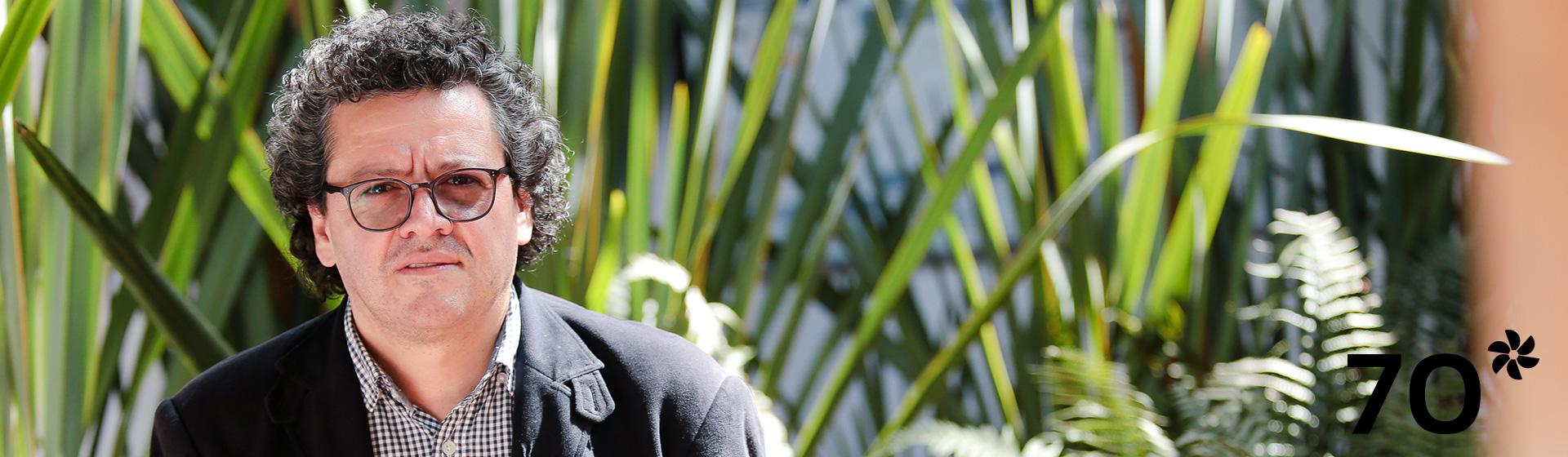 Ferney Rodríguez, decano de la Facultad de Ciencias de Los Andes