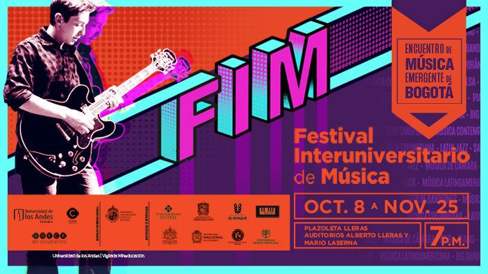 Imagen promocional Festival Interuniversitario de Música de los Andes