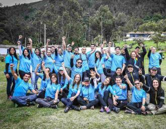 Grupo de voluntario de carrera Senek 2016