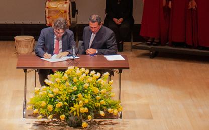 Alejandro Gaviria and Eduardo Pacheco