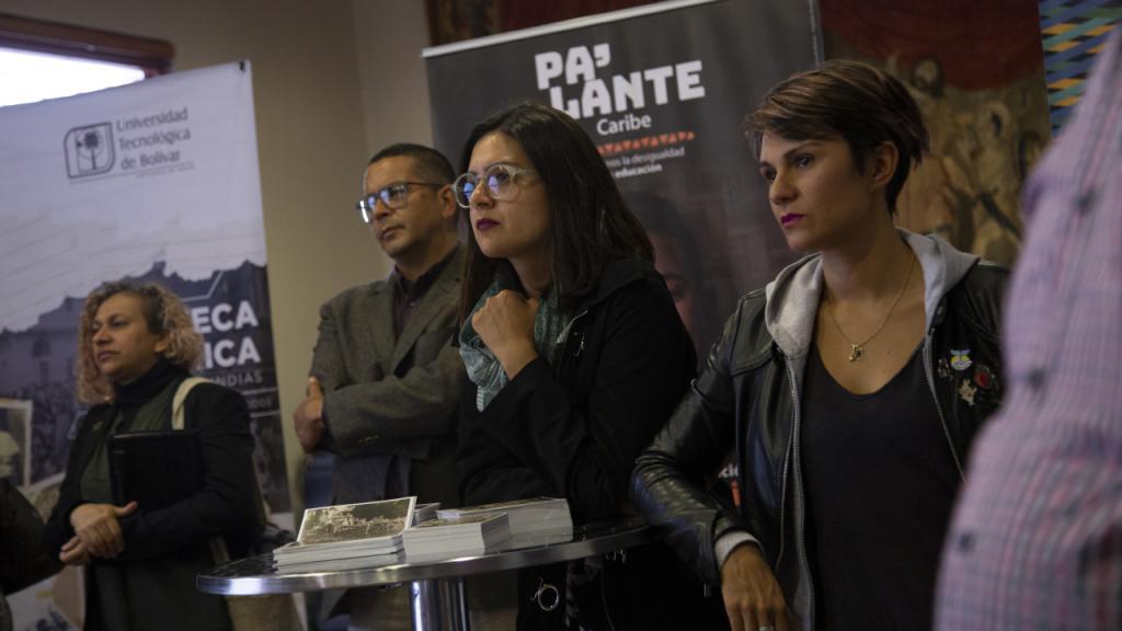 Foto de asistentes al evento