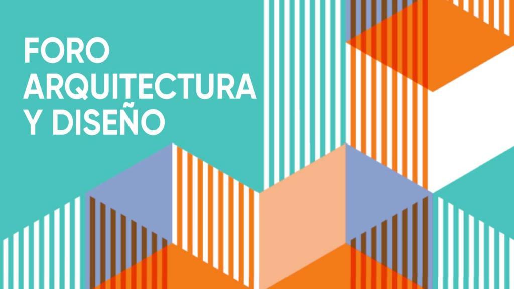 Imagen abstracta de fondo azul, con líneas blancas, azules y naranjas.