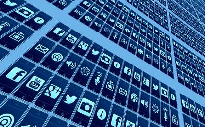 Imagen de logos de redes sociales