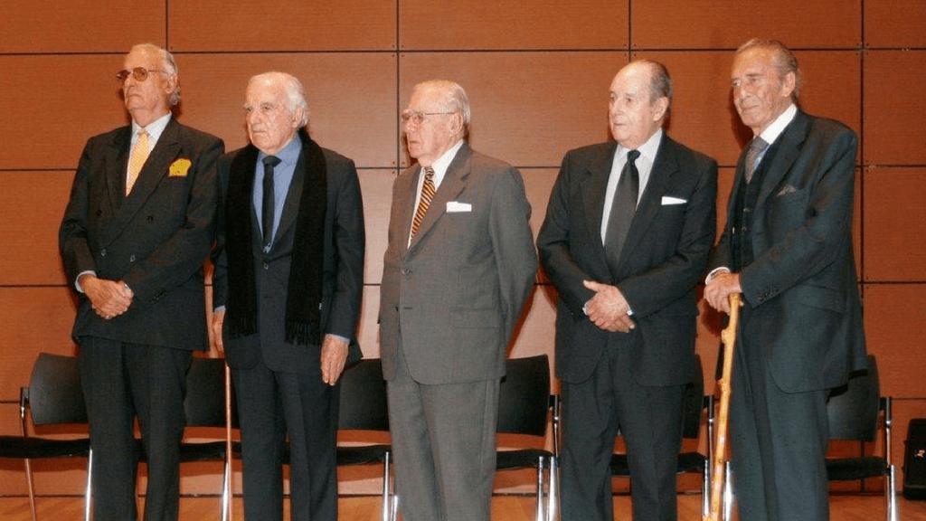Homenaje a fundadores de la Universidad de los Andes