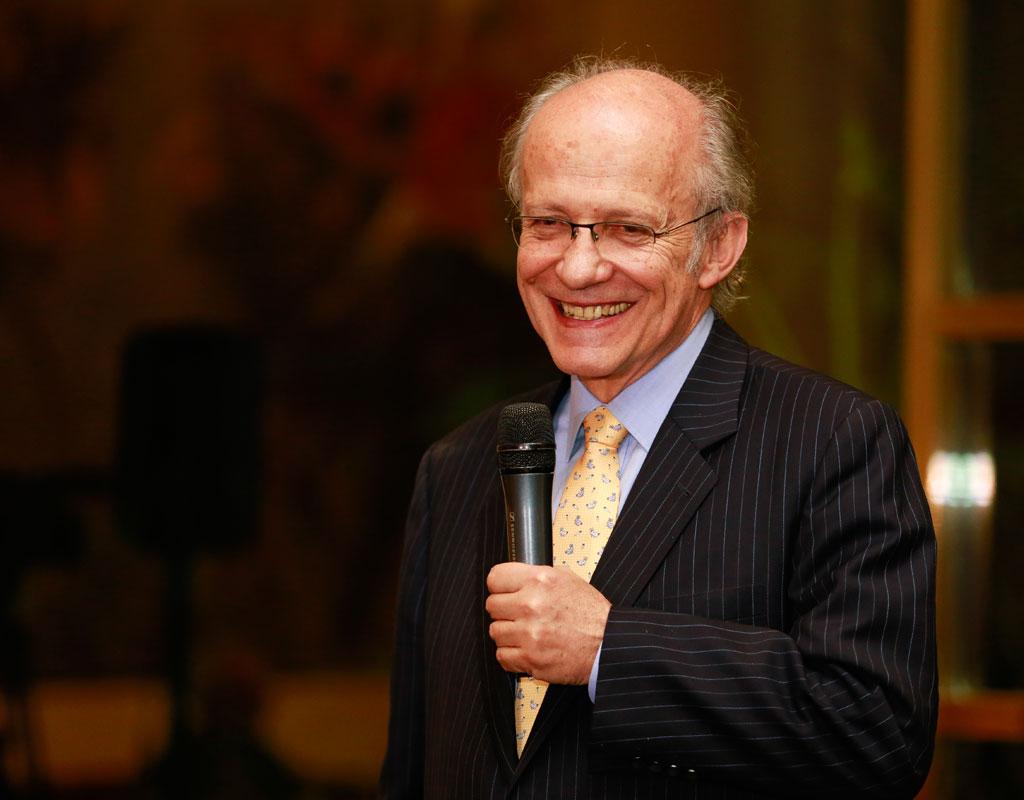 Manuel Rodríguez Becerra, exministro y recientemente nombrado Profesor Emérito de la Universidad de los Andes.