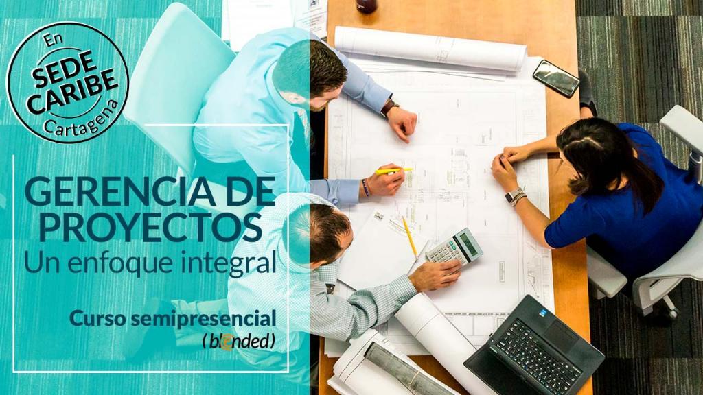 Imagen promocional del curso de gerencia de proyectos.