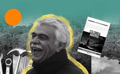 Ilustración con la fotografía de German Castro Caycedo