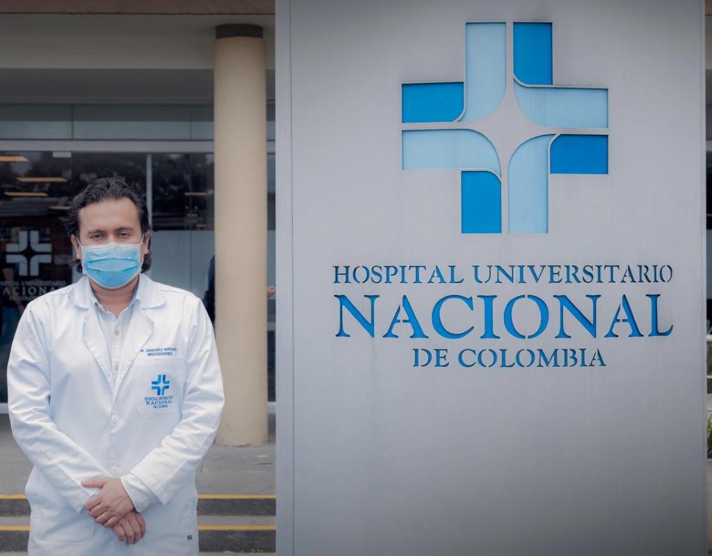 Foto de Giancarlo Buitrago, codirector científico del proyecto Covida.