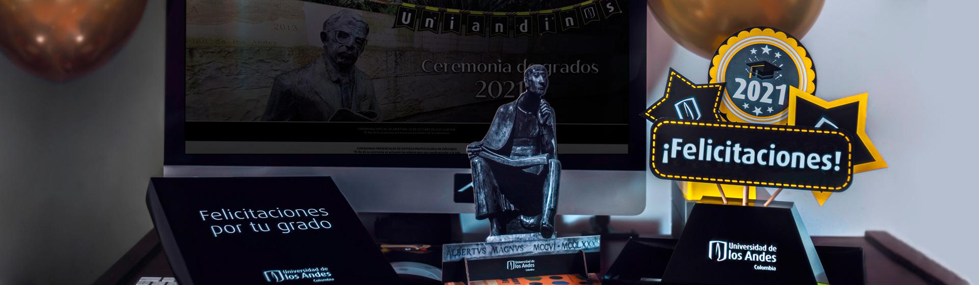 Ceremonia virtual de grados 2021 -2