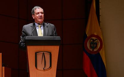 Rector de la Universidad de los Andes, Pablo Navas