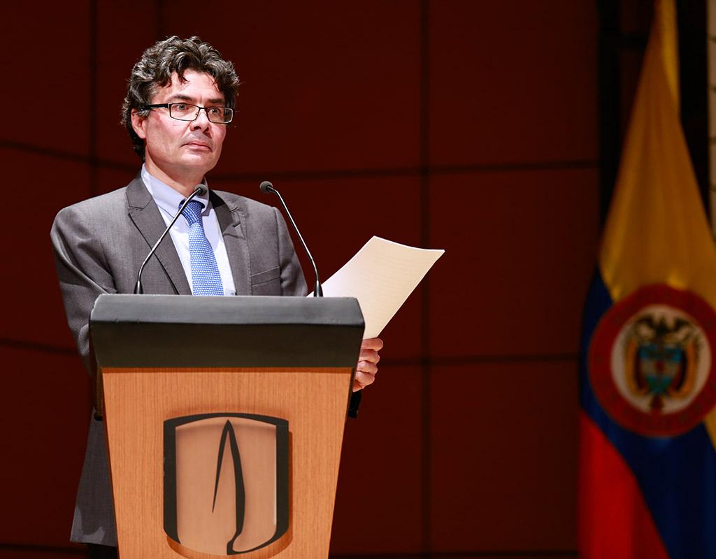 Ministro de Salud y Protección Social, Alejandro Gaviria en Uniandes