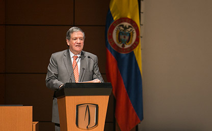 Rector de la Universidad en los Andes, Pablo Navas