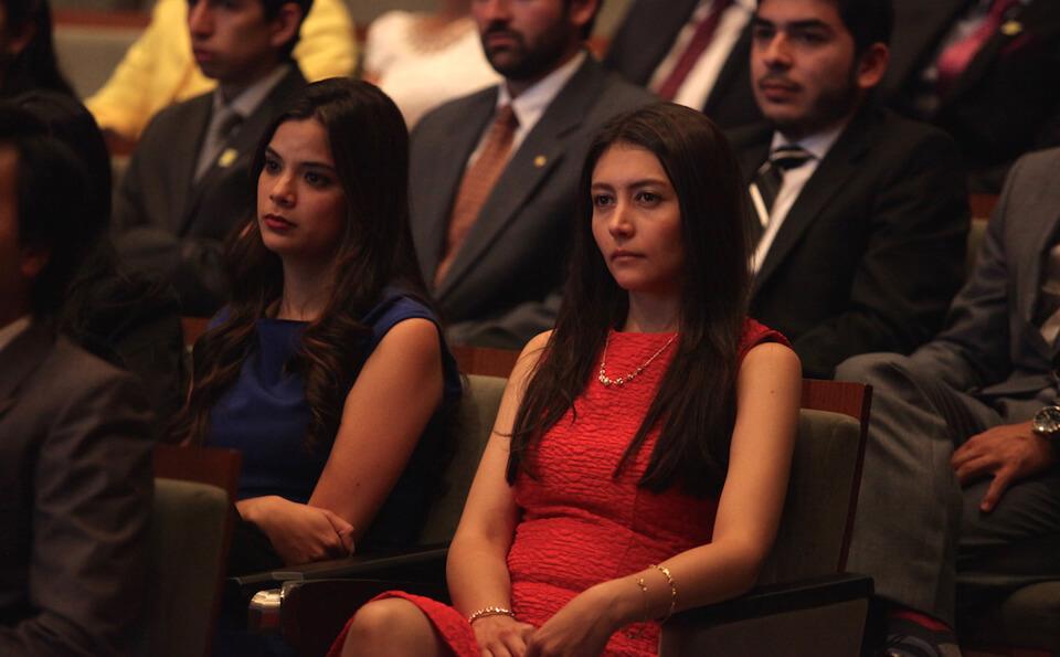 Foto de graduandas medicina
