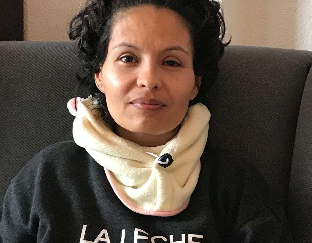 Hanny recibió el título de antropóloga de uniandes en 2004. Hoy vive en Francia, tiene dos hijos pequeños y se recupera en casa del virus Covid-19.
