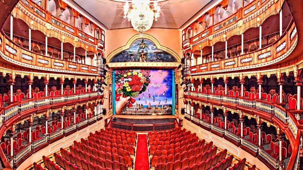 Teatro Heredia, Cartagena de Indias entorno sede caribe