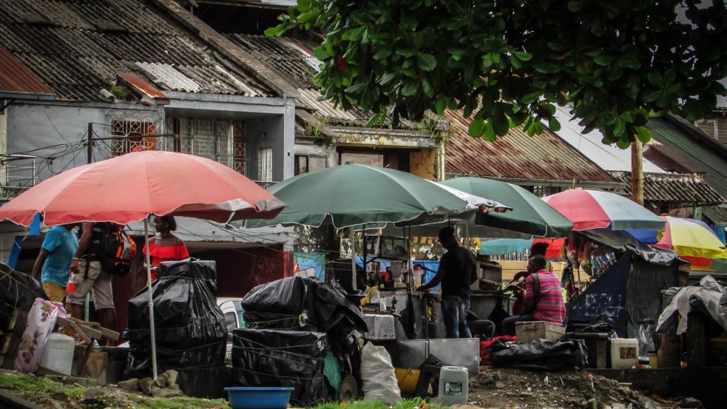 Imagen de población en Quibdó.