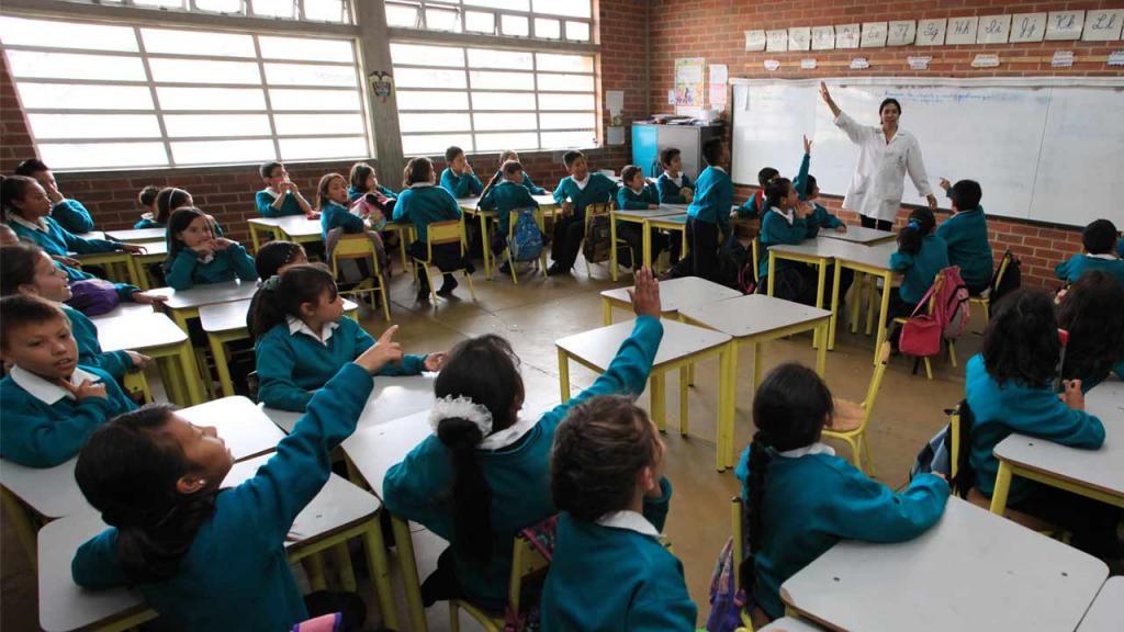 Estudiantes de colegio