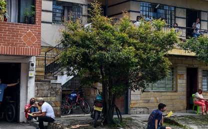 Foto de población en Colombia.