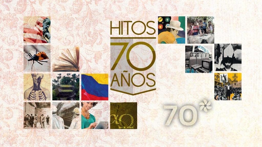 Collage con imágenes de los diferentes hitos que marcaron la historia de la Universidad