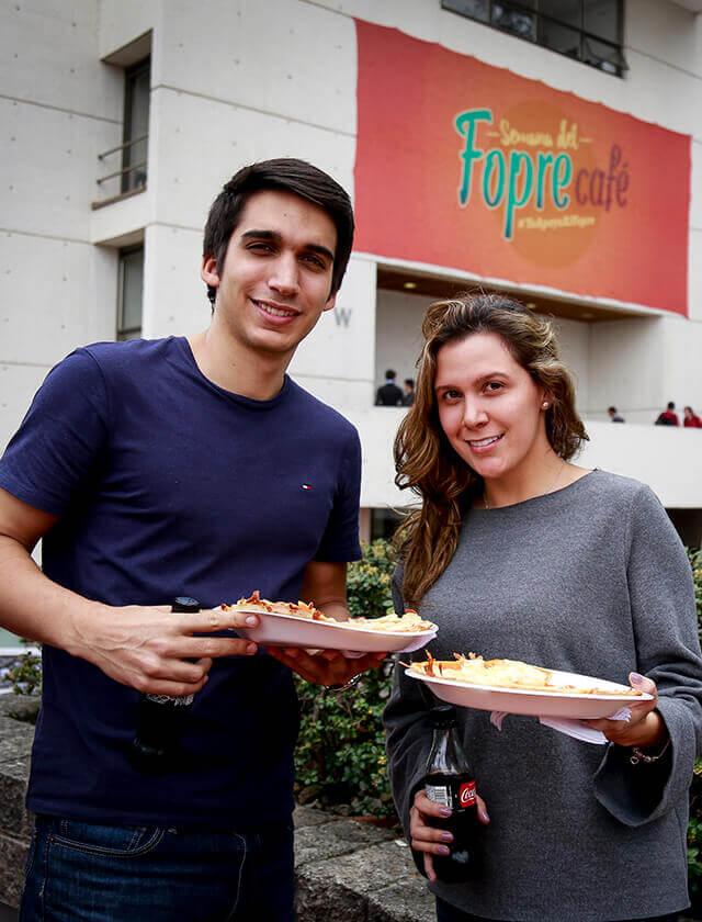 Estudiantes de Uniandes participan en la Semana del Fopre Café