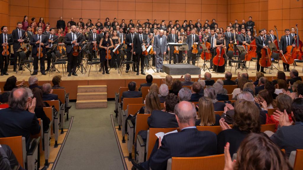 Homenaje al rector Pablo Navas por sus 8 años de liderazgo en la Universidad de los Andes