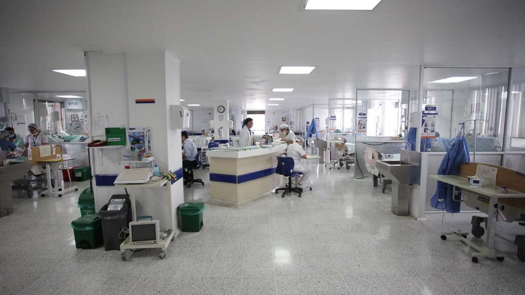 Foto del Hospital el Tunal en Colombia