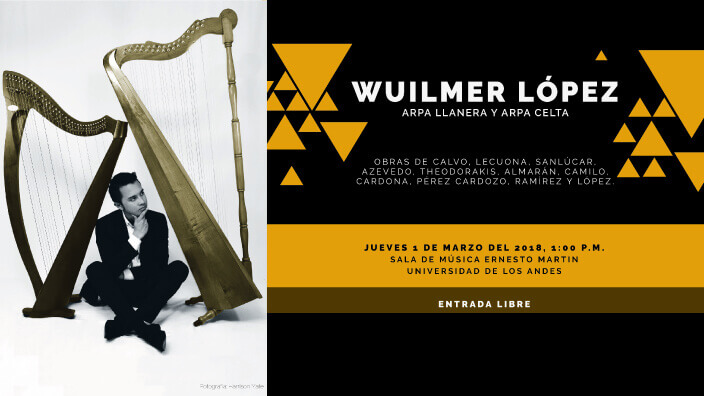 Wuilmer López: arpa llanera y arpa Celta