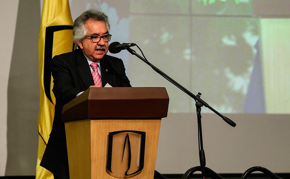 Ignacio Mancilla rector de la Universidad Nacional