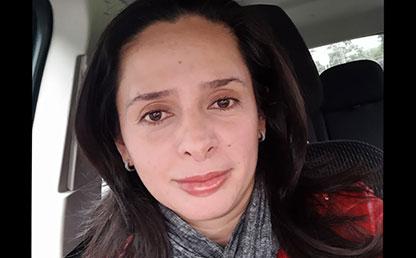 Ángela Maria Barrera, egresada de Diseño Industrial de Uniandes.