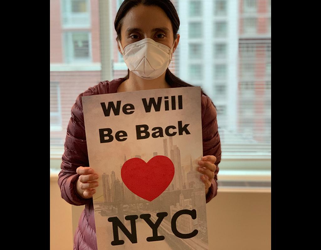 Daniel Téllez y su esposa tuvieron que mantenerse confinados durante el pico de la pandemia del Covid-19 en Nueva York.