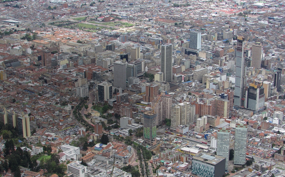 bogota ciudad plano evolucion app