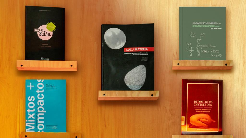 Imagen de las portadas de las nuevas publicaciones de Arquitectura