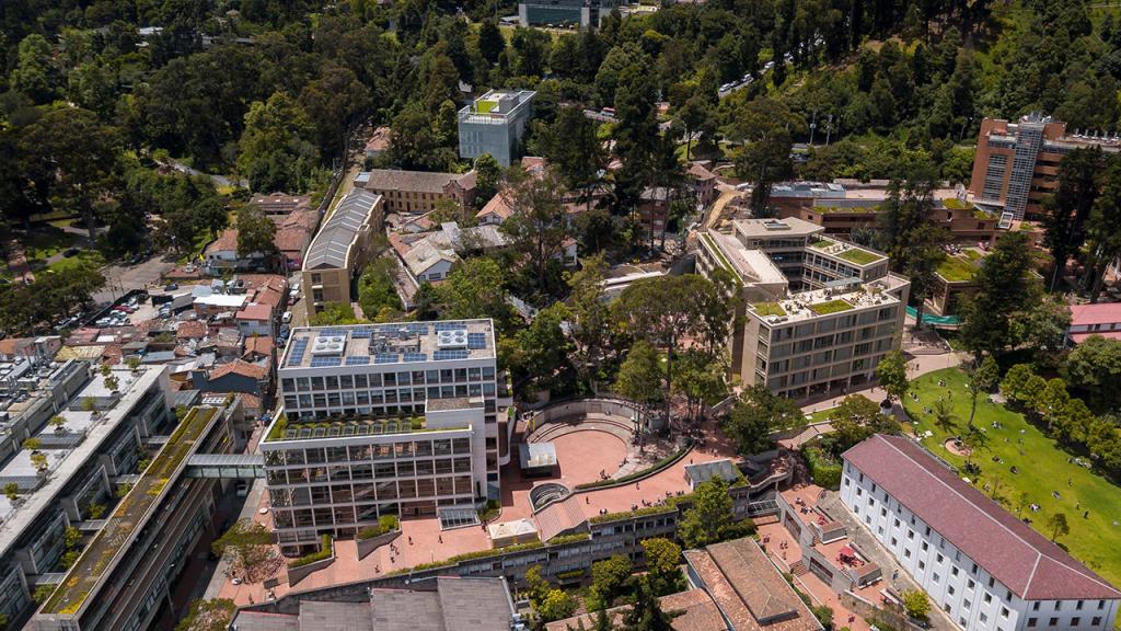 Imagen del campus de la Universidad de los Andes