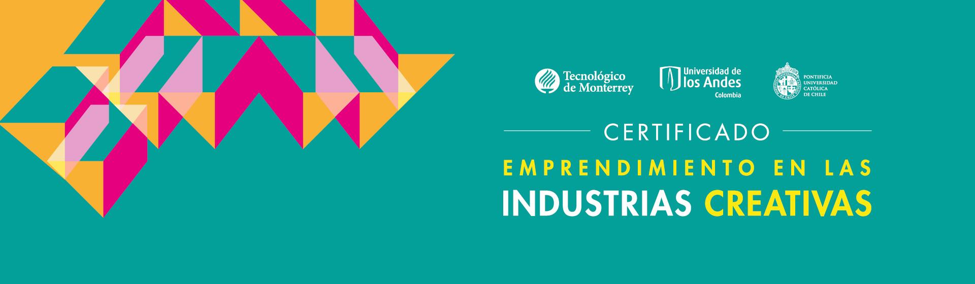 Certificado internacional: Emprendimiento en las industrias creativas