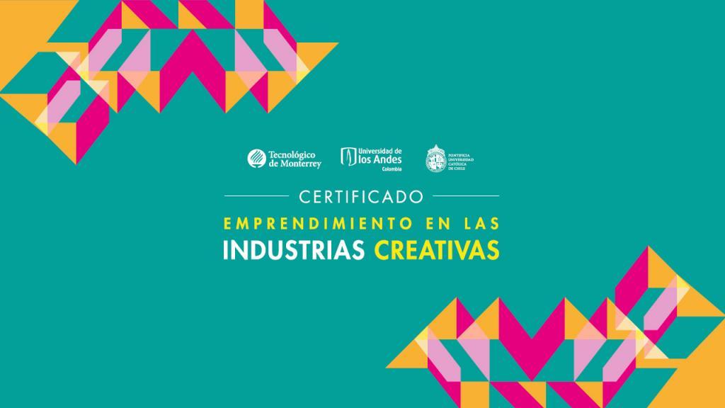 Certificado internacional de emprendimiento en las industrias creativas