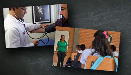 Salud y educación
