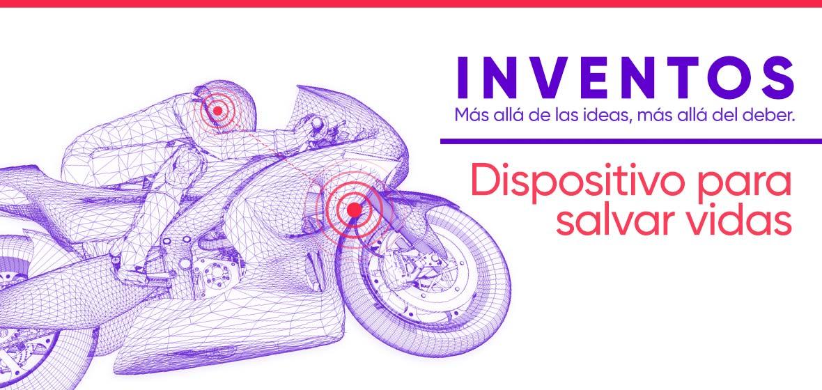 ilustración vectores tecnológicos representando una moto