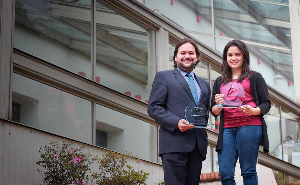Jaime Gutierrez, Daniela Galindo ciencias biologicas