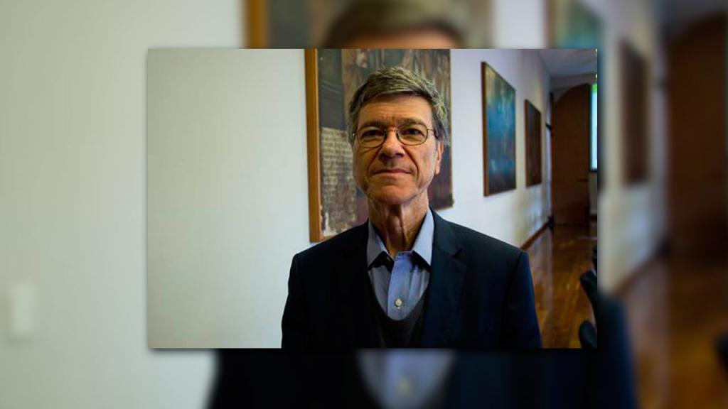 Jeffrey Sachs, economista y director del Centro para Desarrollo Sostenible.