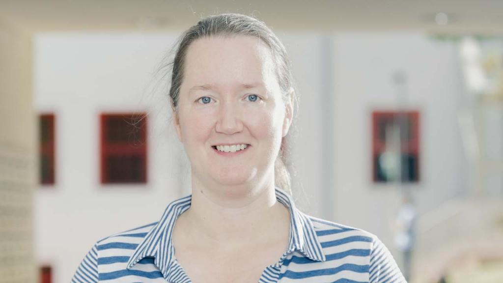 Foto de Jillian Pearse, directora de Geociencias