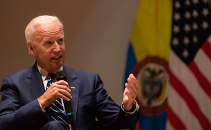 Picture of Joe Biden, the 47th vice-president of the United States of America
