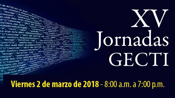 XV Jornadas GECTI