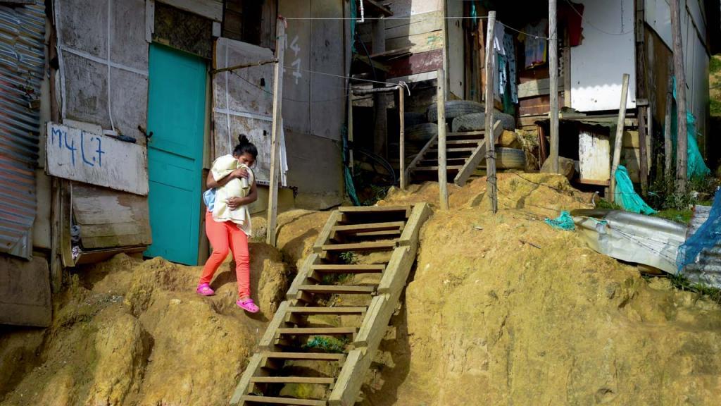 Jóvenes en condición de pobreza